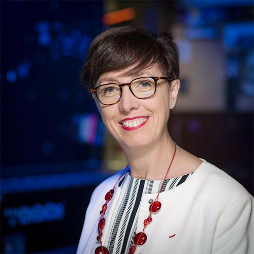 Stéphanie Rivoal, financière et diplomate français, marraine de l'association Parti Civil