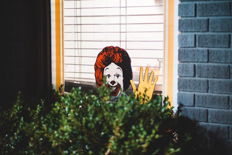 Façade d'un restaurant McDonald's